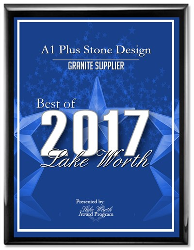 LAKE WORTH AWARD GRANITE SUPPLIER 2017