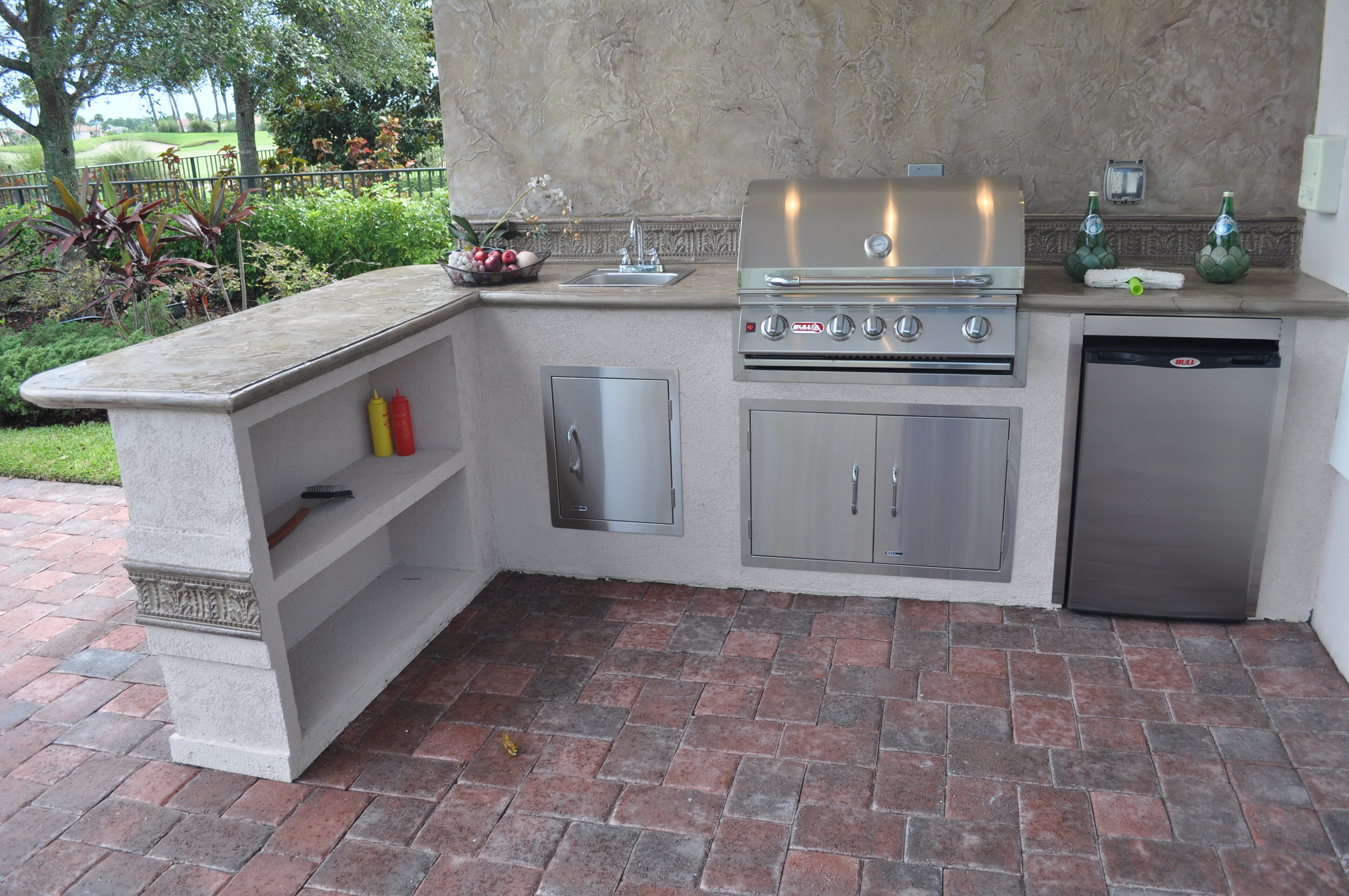 outside kitchens and fireplaces u2013 a1 plus stone design inc