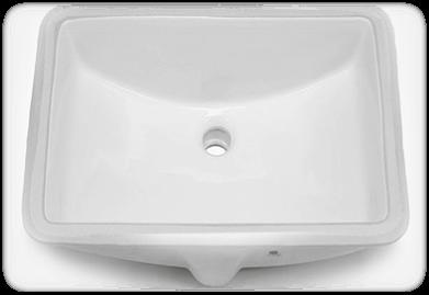 rectangular white
